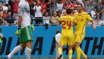 «Ливерпуль» обыграл «Милан» на турнире в США