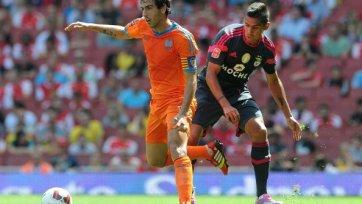 «Валенсия» выиграла у «Бенфики» в рамках Emirates Cup