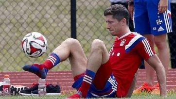 Левандовски: «Адаптация в новой команде проходит хорошо»