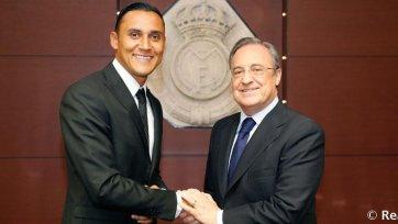 Кейлор Навас официально представлен в качестве игрока «Реала»