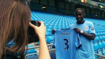 «Манчестер Сити» официально представил Бакари Санья