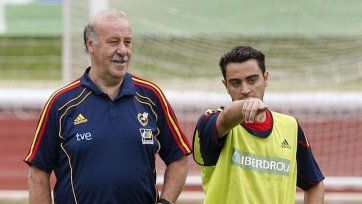Дель Боске: «Авторитет Хави в сборной Испании был огромен»