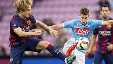 «Наполи» минимально обыграл «Барселону»