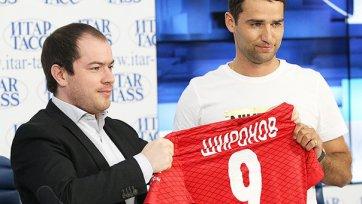 Роман Широков официально представлен в качестве игрока «Спартака»