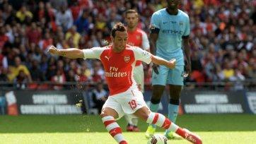 «Арсенал» разбил «Ман Сити» в схватке за Суперкубок Англии