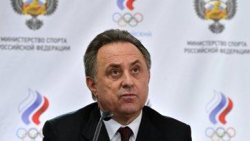 Мутко: «Вопрос о крымских командах – наше внутреннее дело»