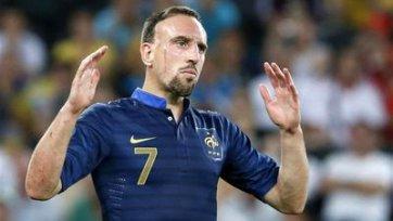 Рибери решил завязать со сборной Франции