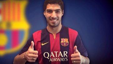 «Барселона» второй раз представит Луиса Суареса