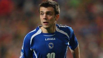Мисимович больше не сыграет за сборную Боснии