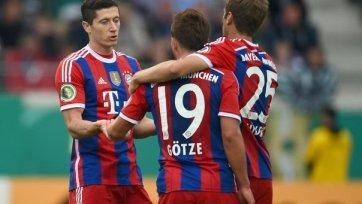 «Бавария» играючи разобралась с «Мюнстером»