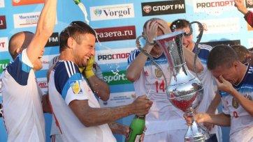 Россия чемпион Евролиги по пляжному футболу