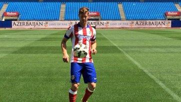Ансальди официально представлен в качестве футболиста «Атлетико»