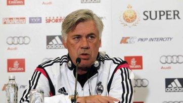 Анчелотти: «Роналду поменяли из-за небольшого повреждения»