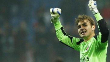 «Палермо» отрицает интерес к вратарю «Милана» Габриэлу