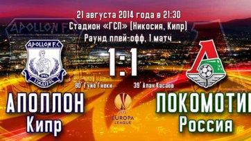 «Локомотив» отметил возвращение в еврокубки двумя удалениями и невыразительной ничьей