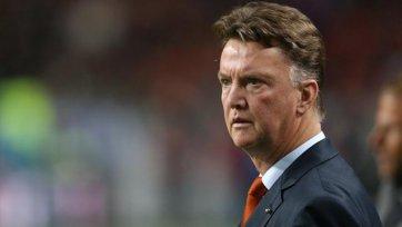 Луи ван Гаал: «В прошлом матче травмированных было девять, теперь семь – это прогресс»