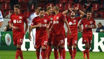 «Байер» словно в контрольном матче обыграл «Копенгаген»