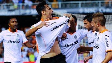 «Валенсия» без проблем обыграла «Малагу»