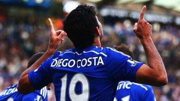Диего Коста имеет шанс сыграть с «Эвертоном»