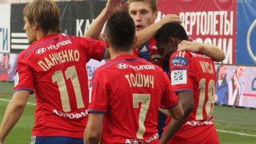 ЦСКА громит «Ростов», Еременко забивает гол-красавец в дебютном матче