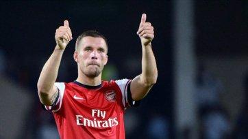 Лукас Подольски подтвердил, что мог покинуть «Арсенал»
