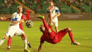 Сборная Белоруссии покуражилась в матче с Таджикистаном