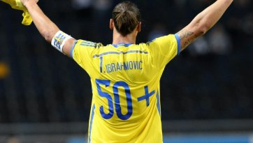 Швеция обыграла Эстонию, Ибрагимович установил рекорд