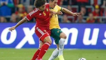 Аксель Витсель помог Бельгии обыграть Австралию