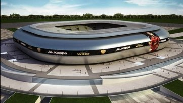 «Рома» в 2017 году переберется на новый стадион