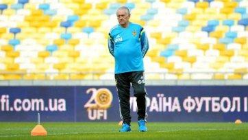 Фоменко: «Задача сборной Украины предельно ясна»