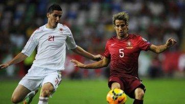Португалия позорится в матче с Албанией