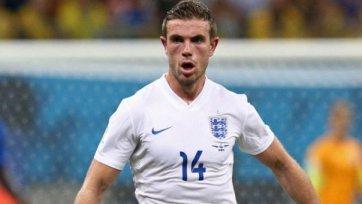 Англия теряет Хендерсона накануне матча со Швейцарией