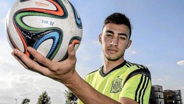Эль-Хаддади: «Пока мое место в сборной Испании-U21»