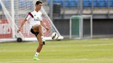 Роналду уже работает с мячом, но пока индивидуально