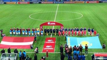 Матч между Казахстаном и Латвией голами не порадовал