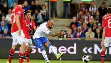 Италия увезла три очка из Норвегии