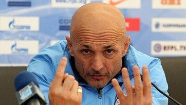 Лучано Спаллетти получает от «Зенита» по 300 тысяч в месяц