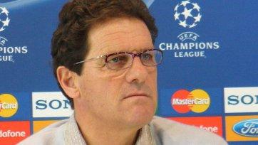 Капелло: «Фавориты Лиги чемпионов – это «Челси» и «Бавария»