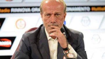 Вальтер Сабатини: «У Бенатии пропало желание играть в нашем клубе»