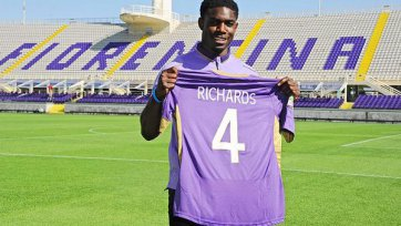 Майка Ричардс стал полноценным игроком «Фиорентины»