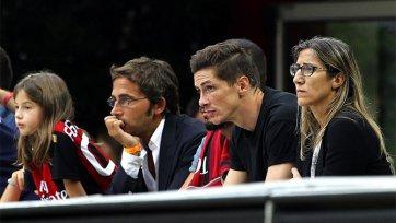В «Милане» ждут дебюта Фернандо Торреса