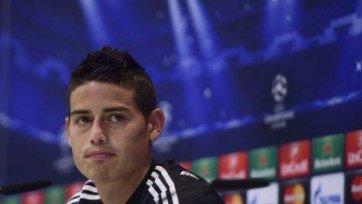 Хамеc Родригес: «Обязаны побеждать «Базель»