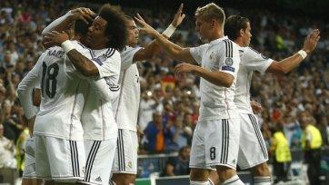 «Реал» разгромил «Базель»