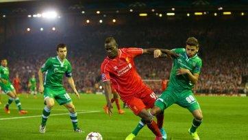 «Лудогорец» едва не наказал «Ливерпуль»