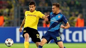 «Боруссия» расправилась над «Арсеналом»