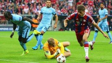 «Бавария» вырвала победу над «Ман Сити»