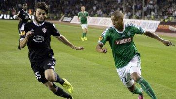 «Карабах» и «Сент-Этьен» голов друг другу не забили