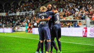 «Бордо» выиграл у «Эвиана» и вырвался на первую строчку чемпионата Франции