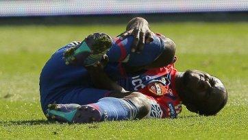 Сейду Думбия избежал серьезного повреждения