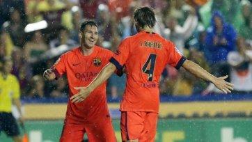 «Барселона» придерживается чемпионского графика